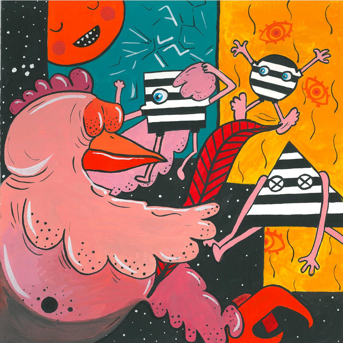chicken psycho bates AlphabetBates personalitydisorder crazy night dream pinkfloyd Dissociative Drugs HfKBremen english NormanBates