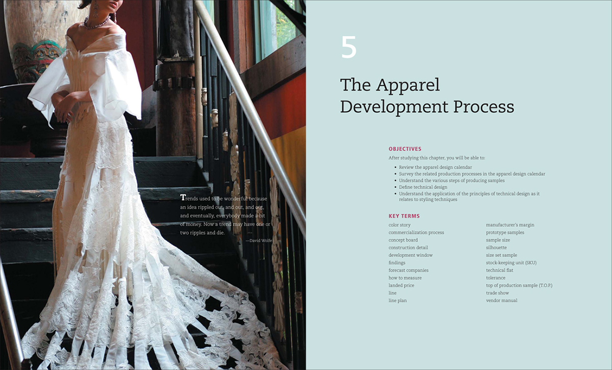 The Objective Of This Project Was To Create A High End Contemporary Look For Fashion Design Textbook That Not Only Pleasing View But Also Easy
