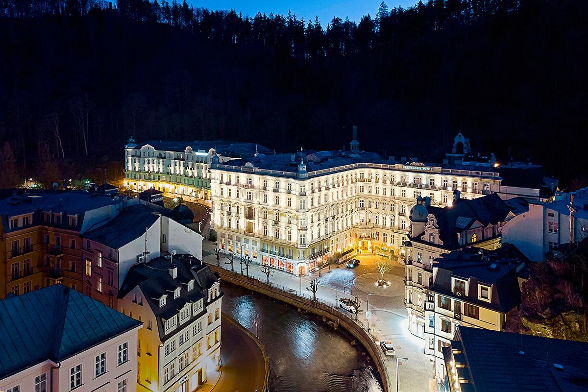 Five Star grandhotel hotel identity Karlovy Vary kviff luxury najbrt pupp wes anderson