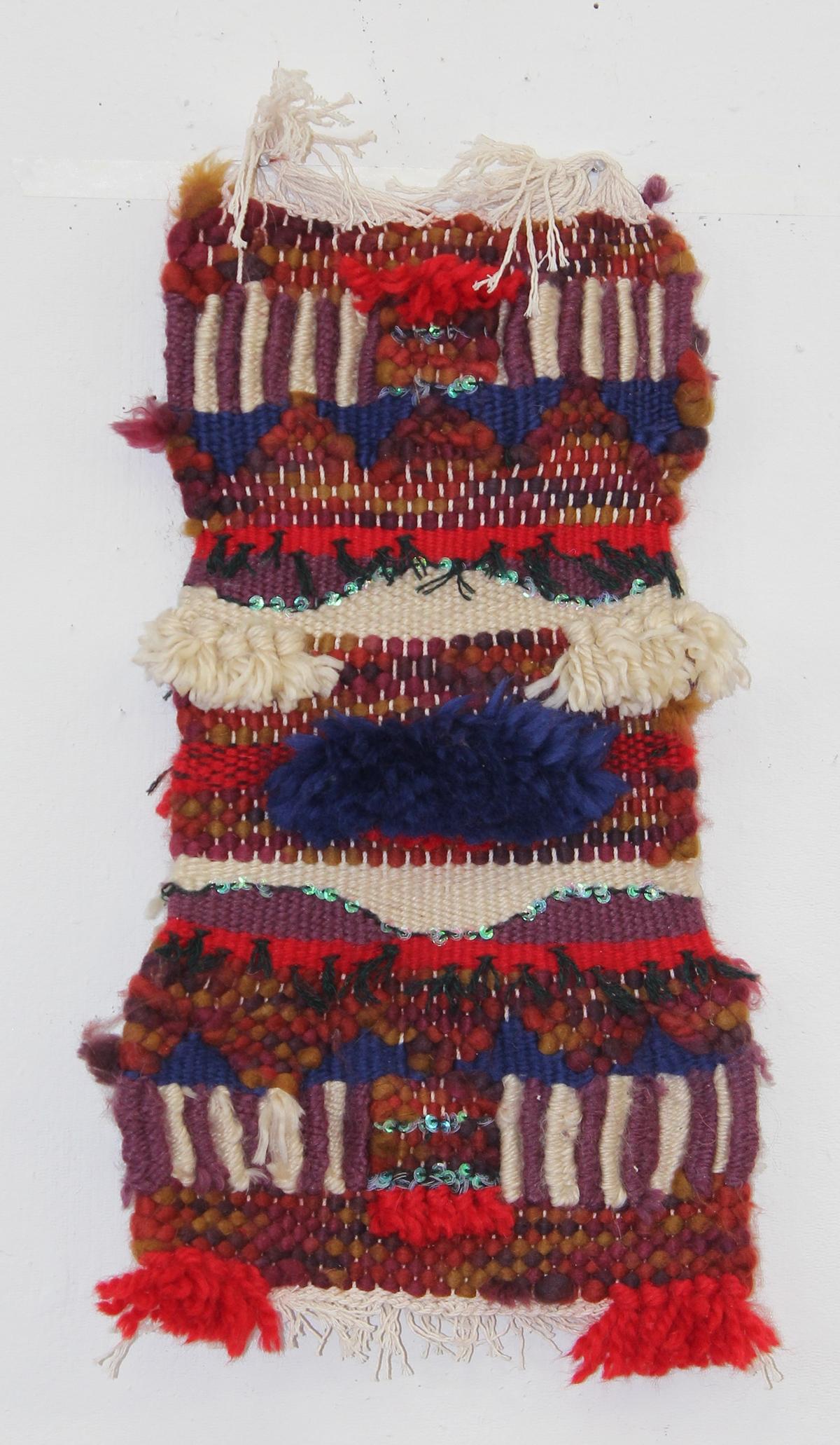 weaving Hand Loom yarn sequins