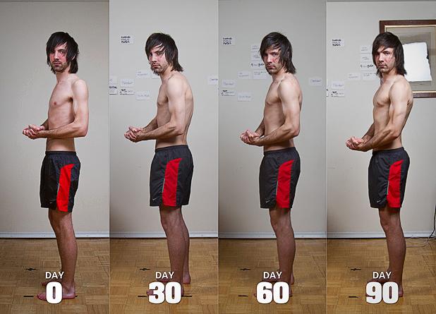 как набрать массу худому