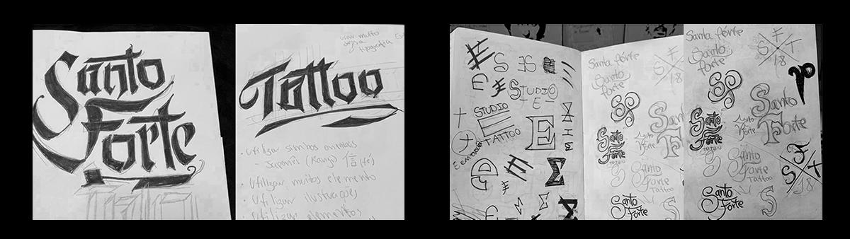 Santo Forte Tattoo On Student Show