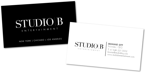 Branding identity studio b entertainment on behance thank you colourmoves