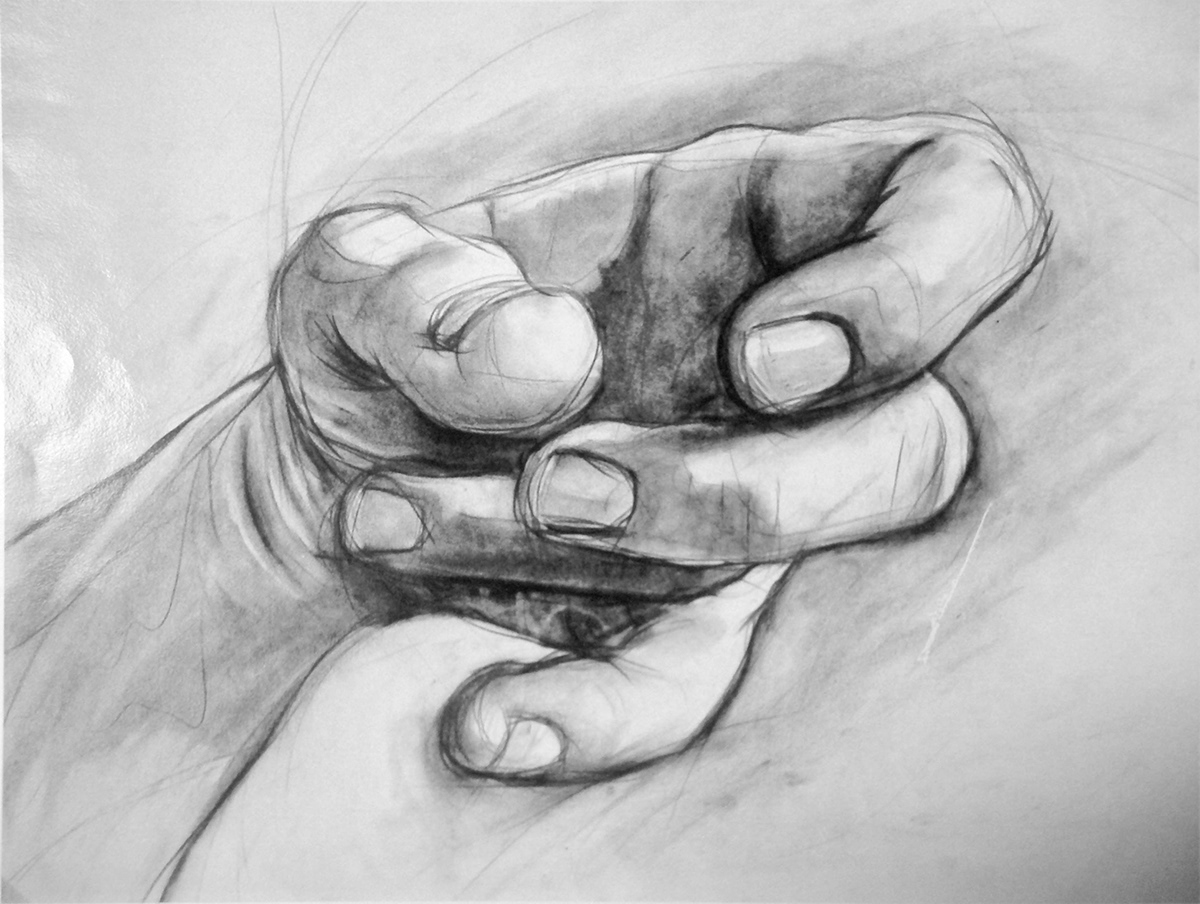 charcoal,anatomy,TRADITIONAL ART,hand,ILLUSTRATION ,fine art,sketch