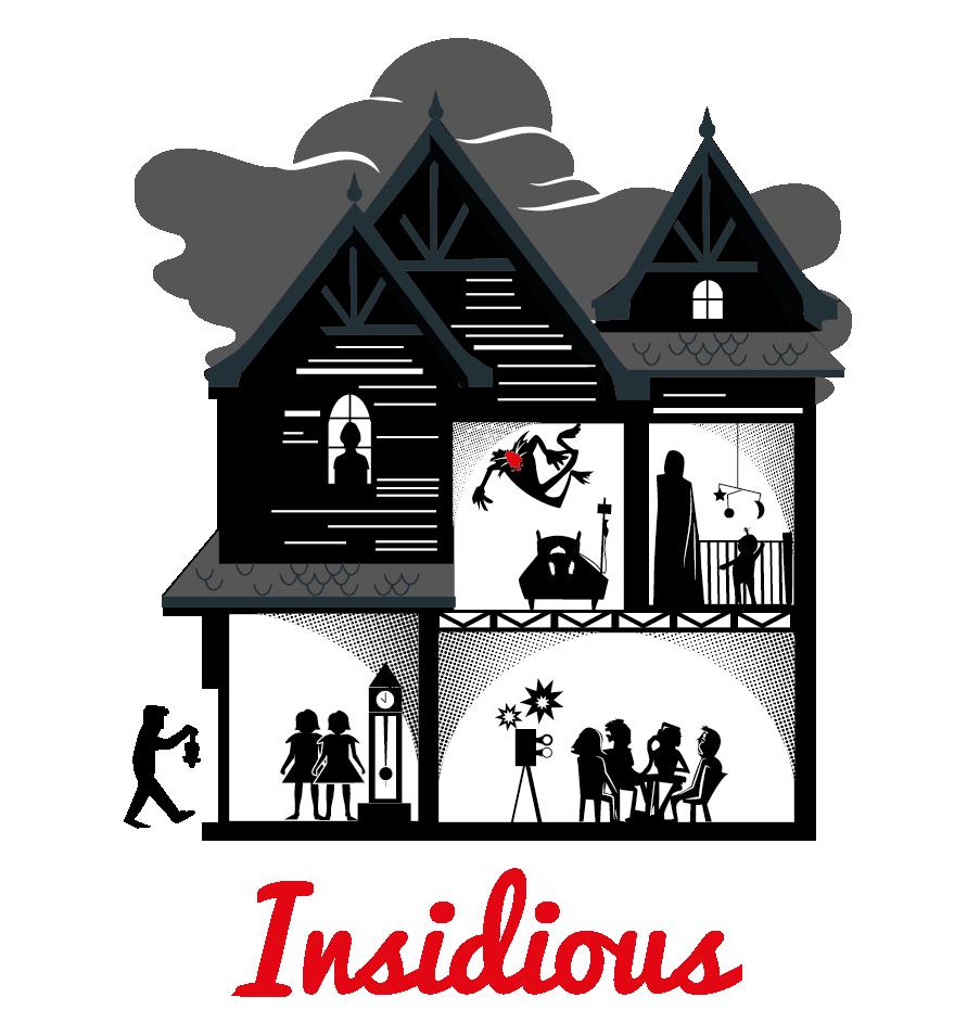 house insidious horror movie poster poster screen print serigrafi movie