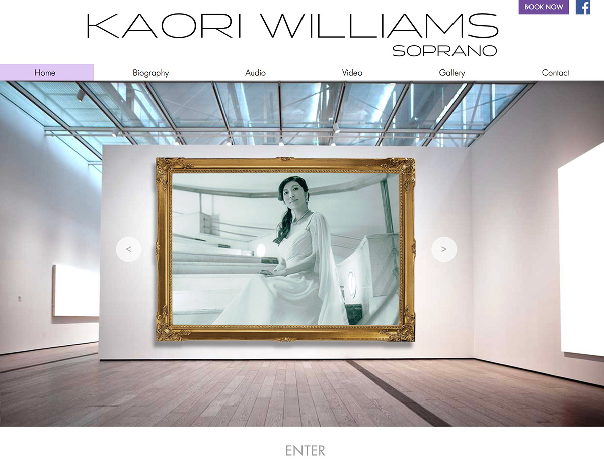 Kaori Williams, Soprano on Behance