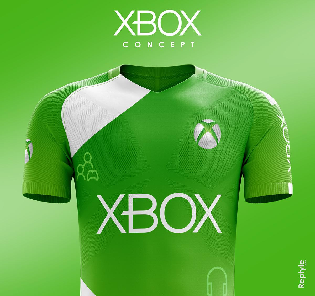 Xbox soccer kit concept on Behance c29403986