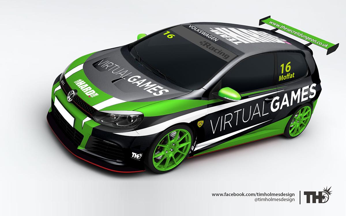 Team-HARD. Racing VW Cup Car Liveries on Behance