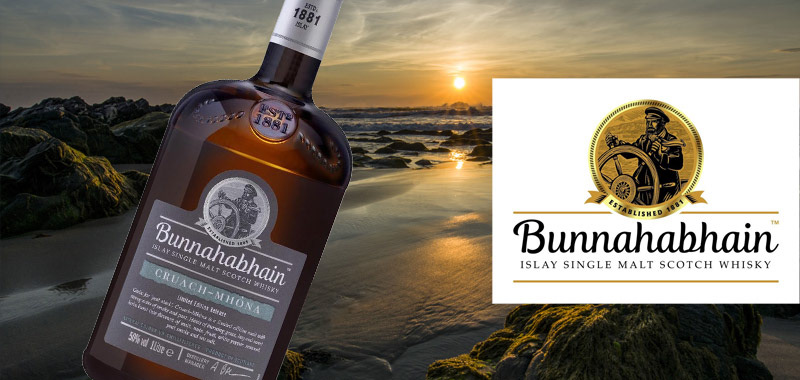Header for Bunnahabhain whisky, Magnin wine & Spirits