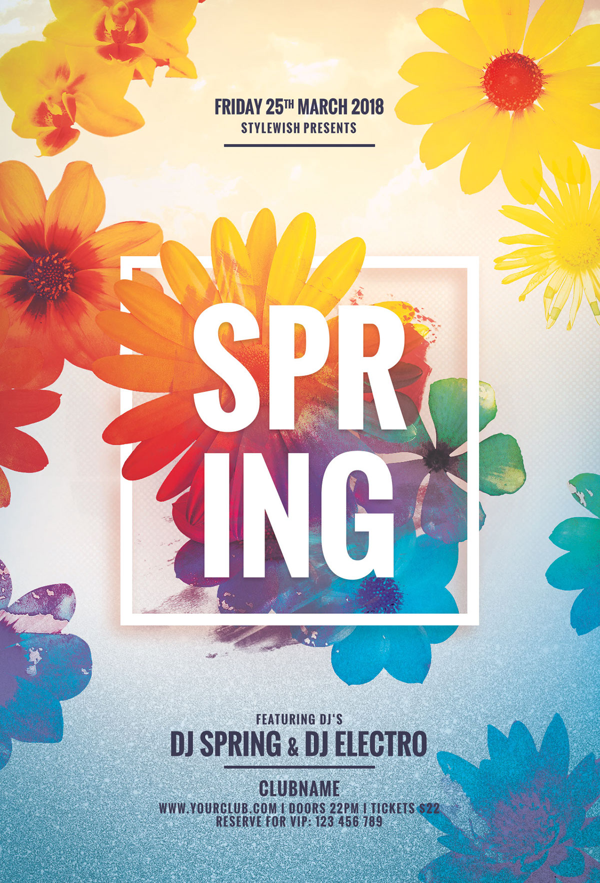 Spring Flyer On Behance
