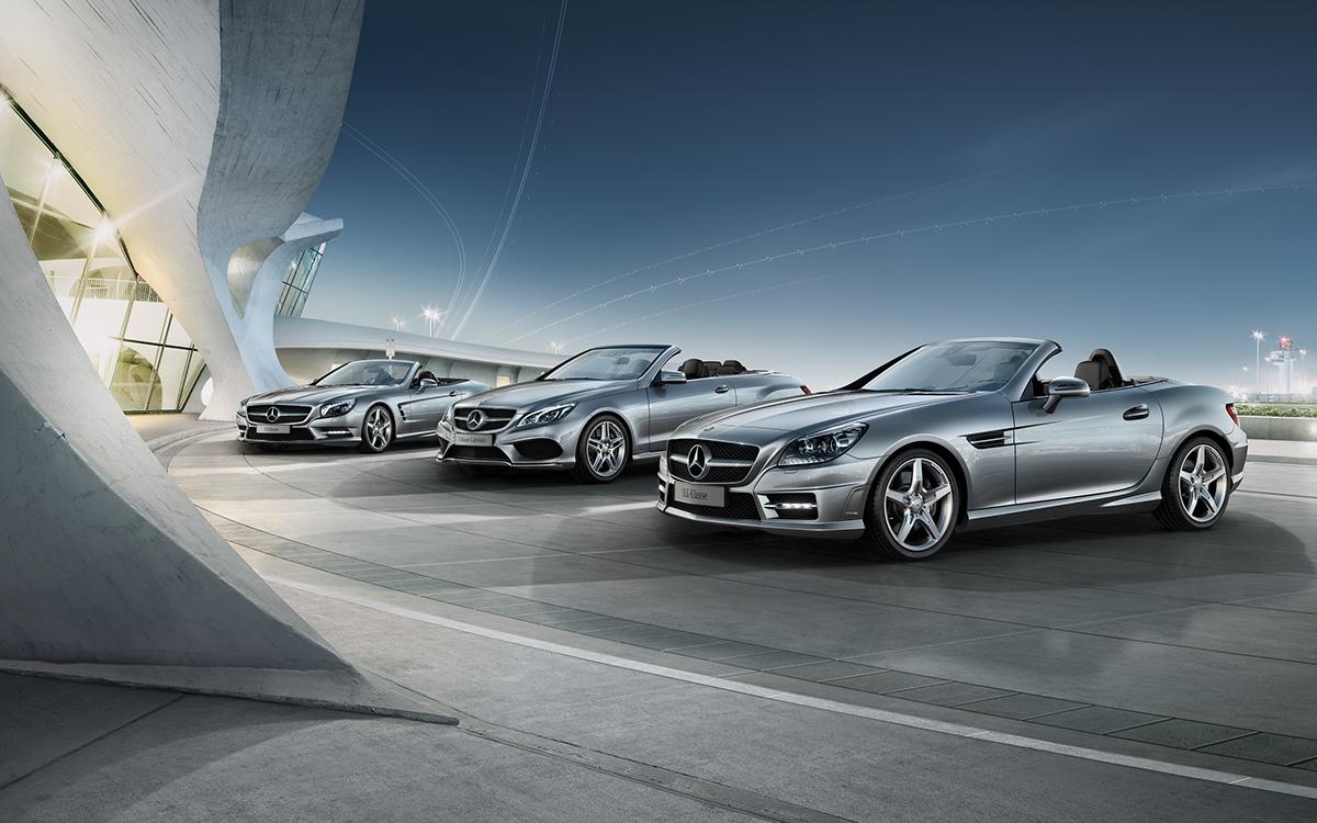 Mercedes benz fleet campaign on behance for Mercedes benz fleet