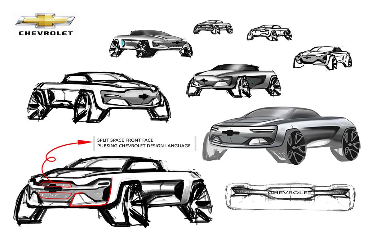 2035 Chevrolet Pick Up On Behance
