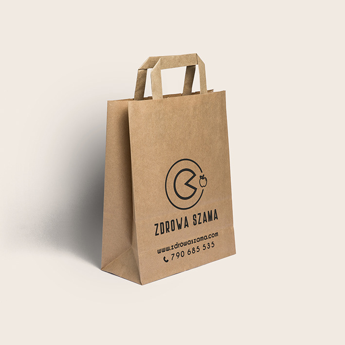 logo Project branding  Create company Food  apple
