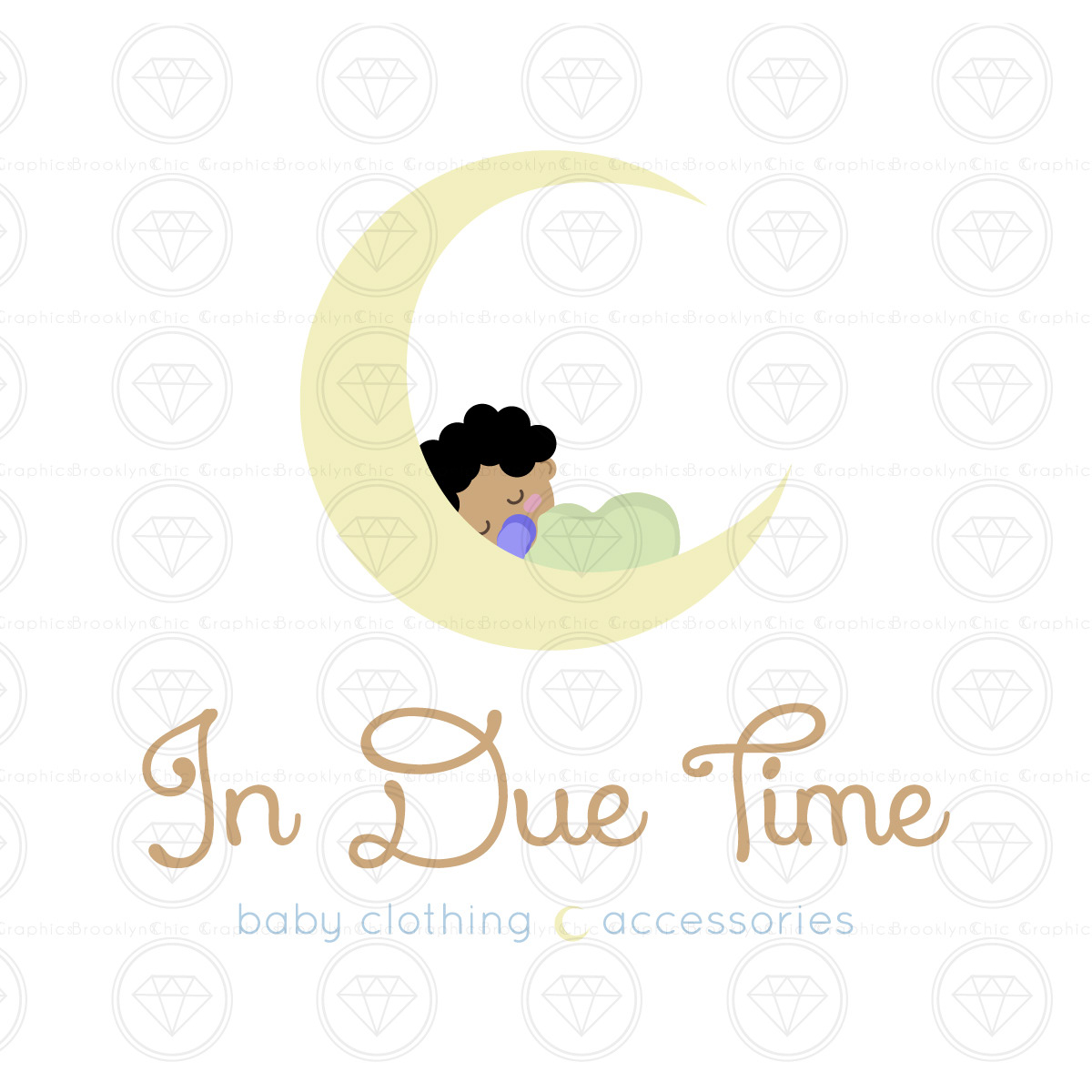 In Due Time Logo Design On Behance