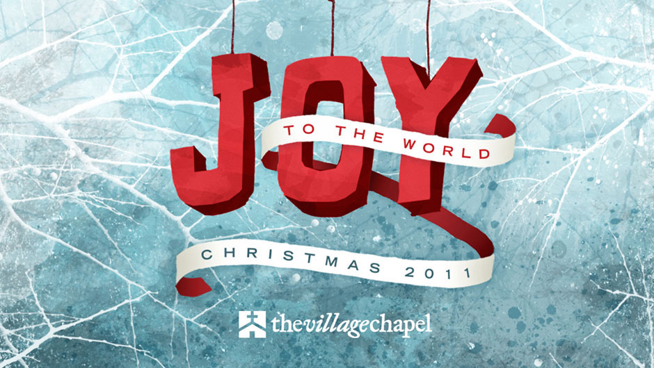 "Christmas Church Theme: ""Joy to the World"" on Behance"