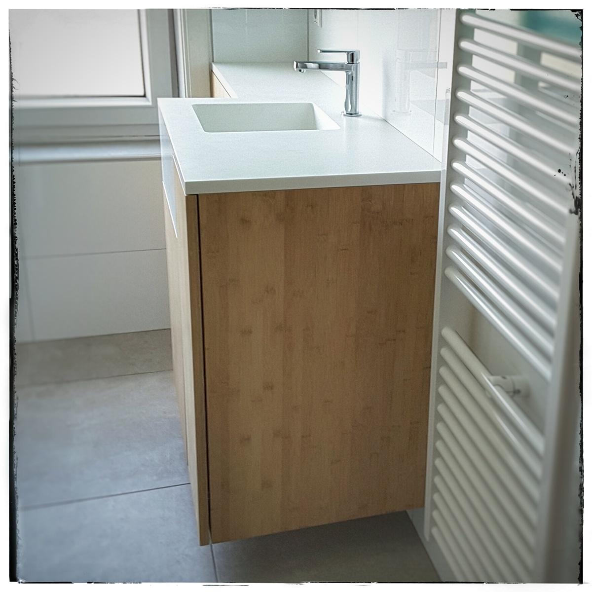 bathroom corian bamboo