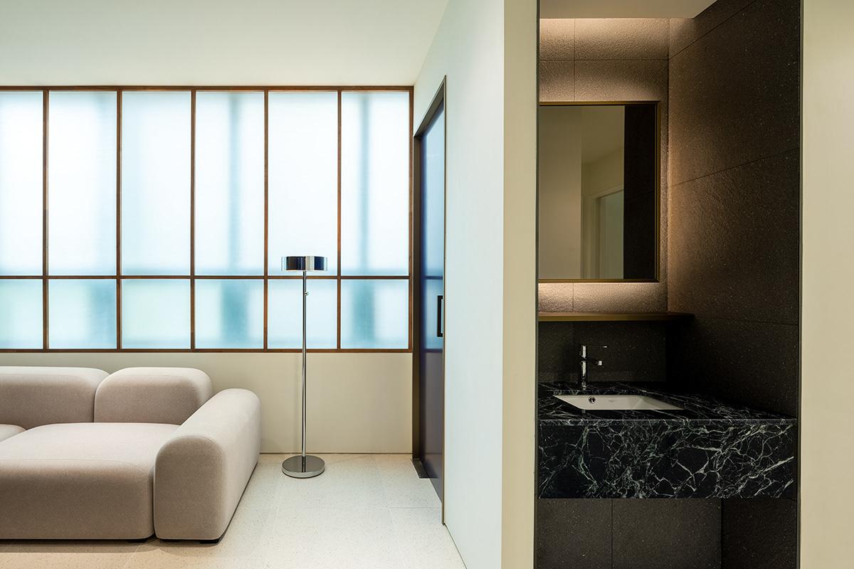 boud brand experience branding  bx Cosmetic Cosmetic Brand design interior design  Nternity spacial design