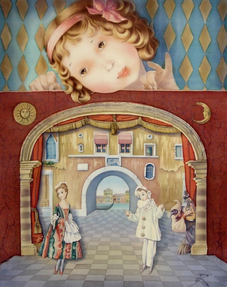 Olena Korolyuk |Silk Painting