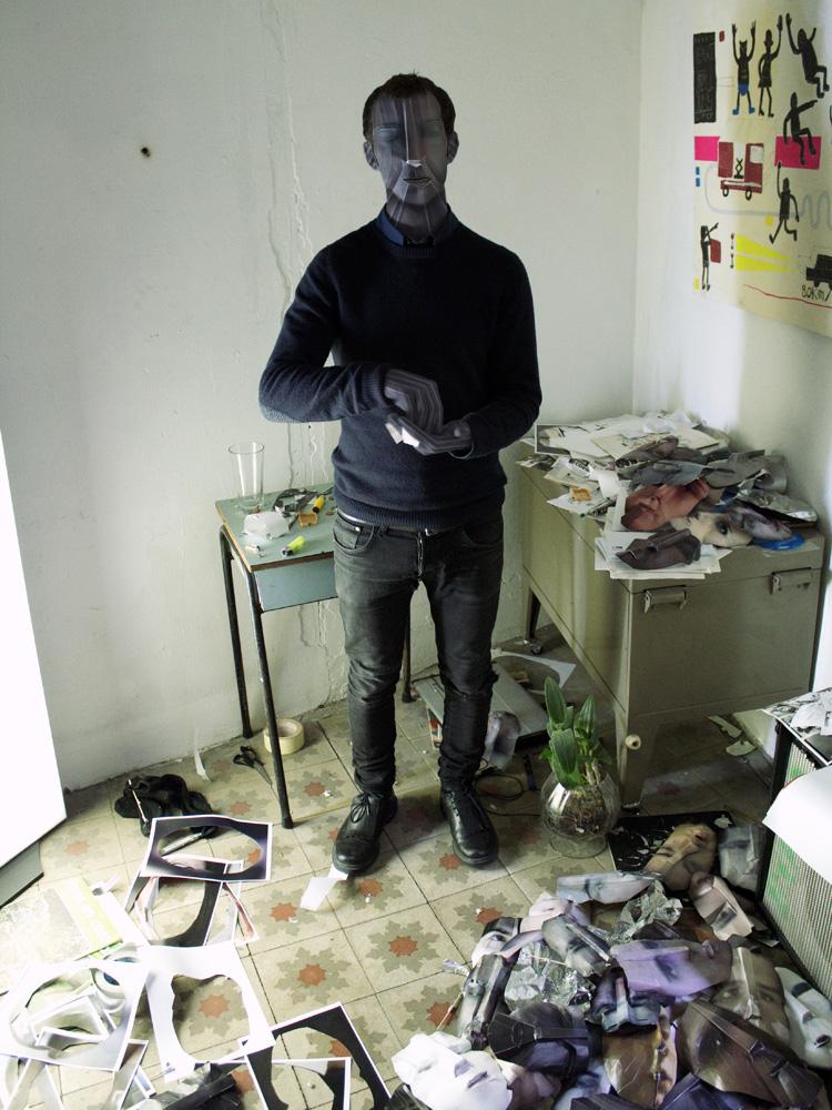 symbiosis artists with character Exhibition  miscelanea barcelona photoshop portrait lolo sergio Mora INA OTICA Albert Bertolin carles gomila sendys marga lopez