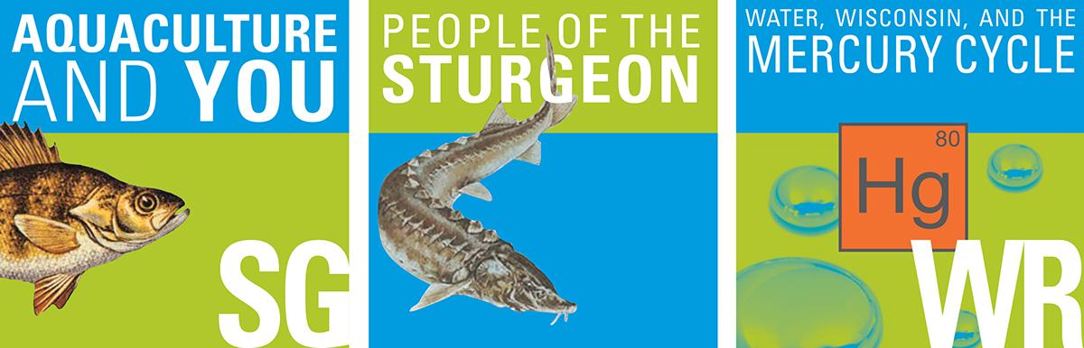 podcast graphic iTunes U Sustainable fish aquaculture aquifers watershed sturgeon fisheries