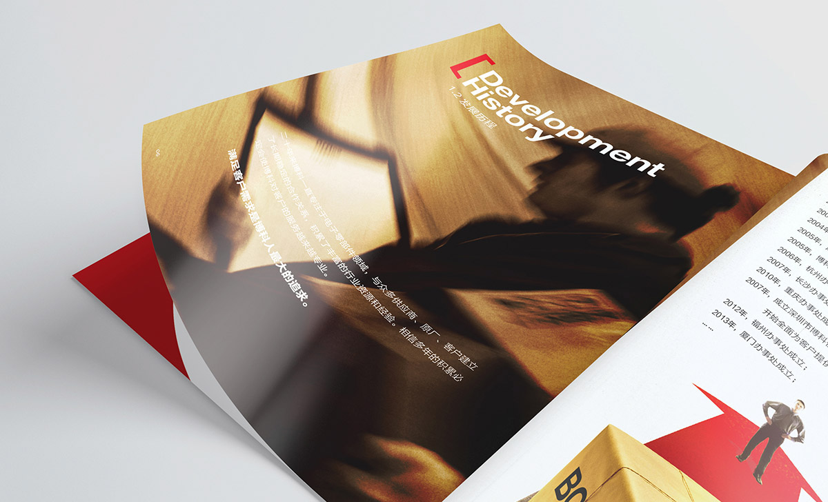 Catalogue design brochure print company import and export trade 画册 设计 品牌