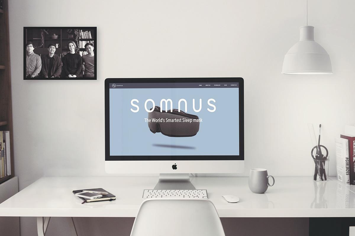 Somnus Smart Sleep Mask on Behance