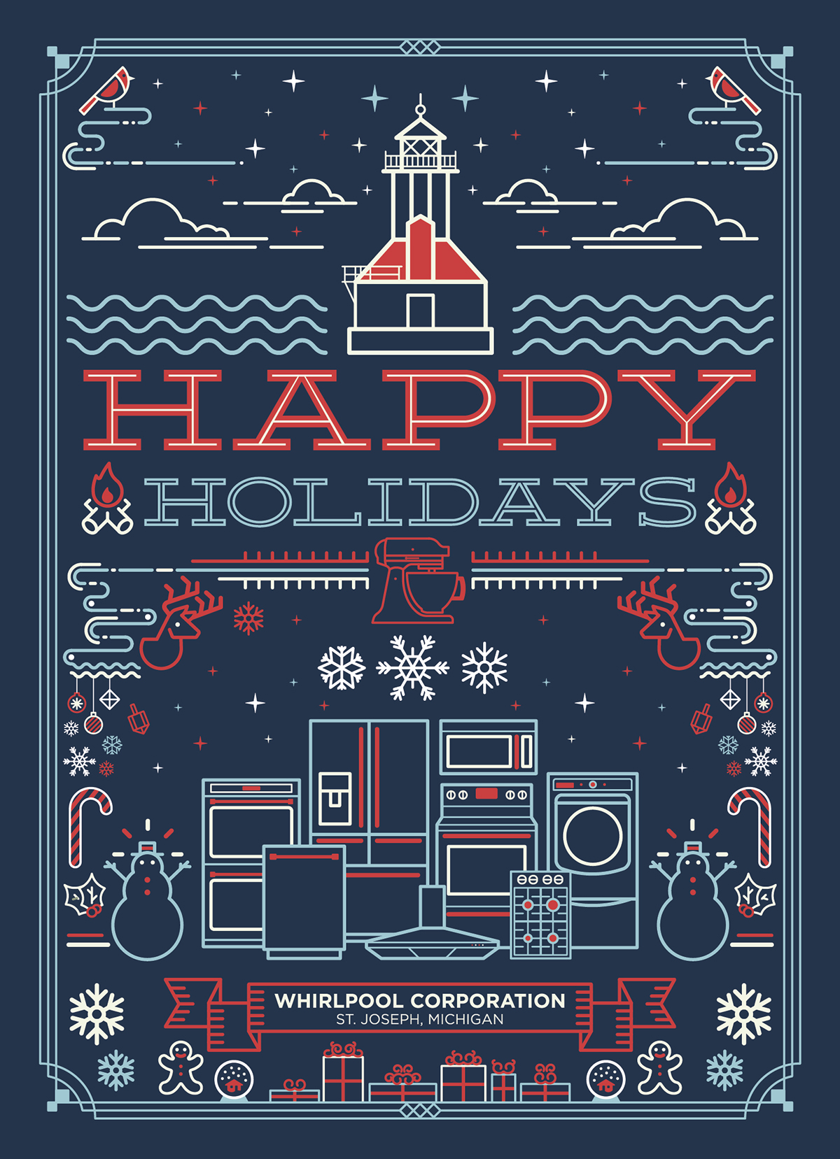 The Most Creative Greeting Cards For Christmas Print24 Blog