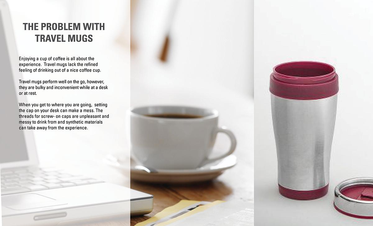 mito travel mug cream and sugar on behance