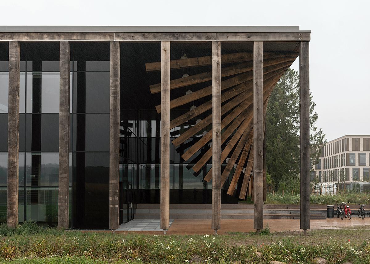 architecture copenhagen denmark DTU Landscape learning Lyngby minimal nordic