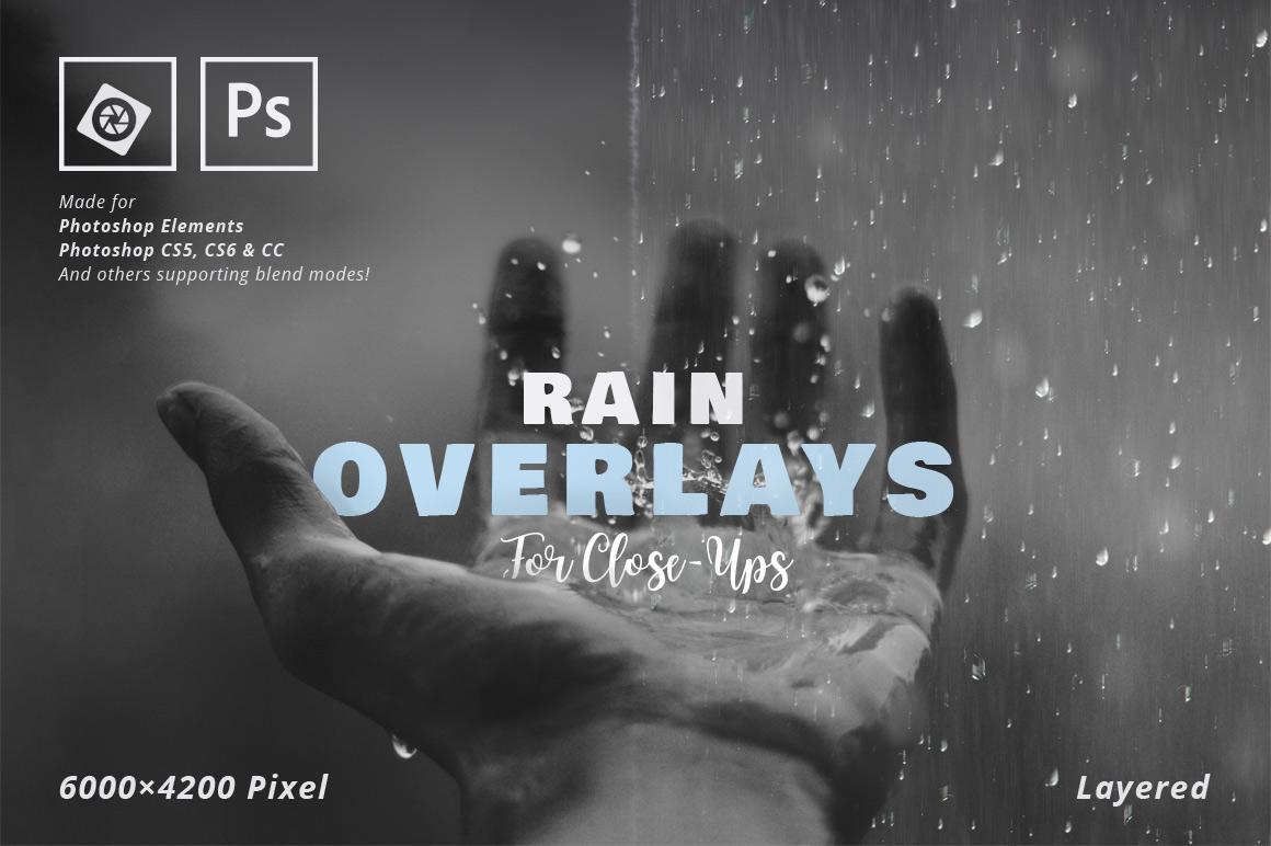 rain rainfall Overlay macro closeup close-up Photography  photoshop psd jpg