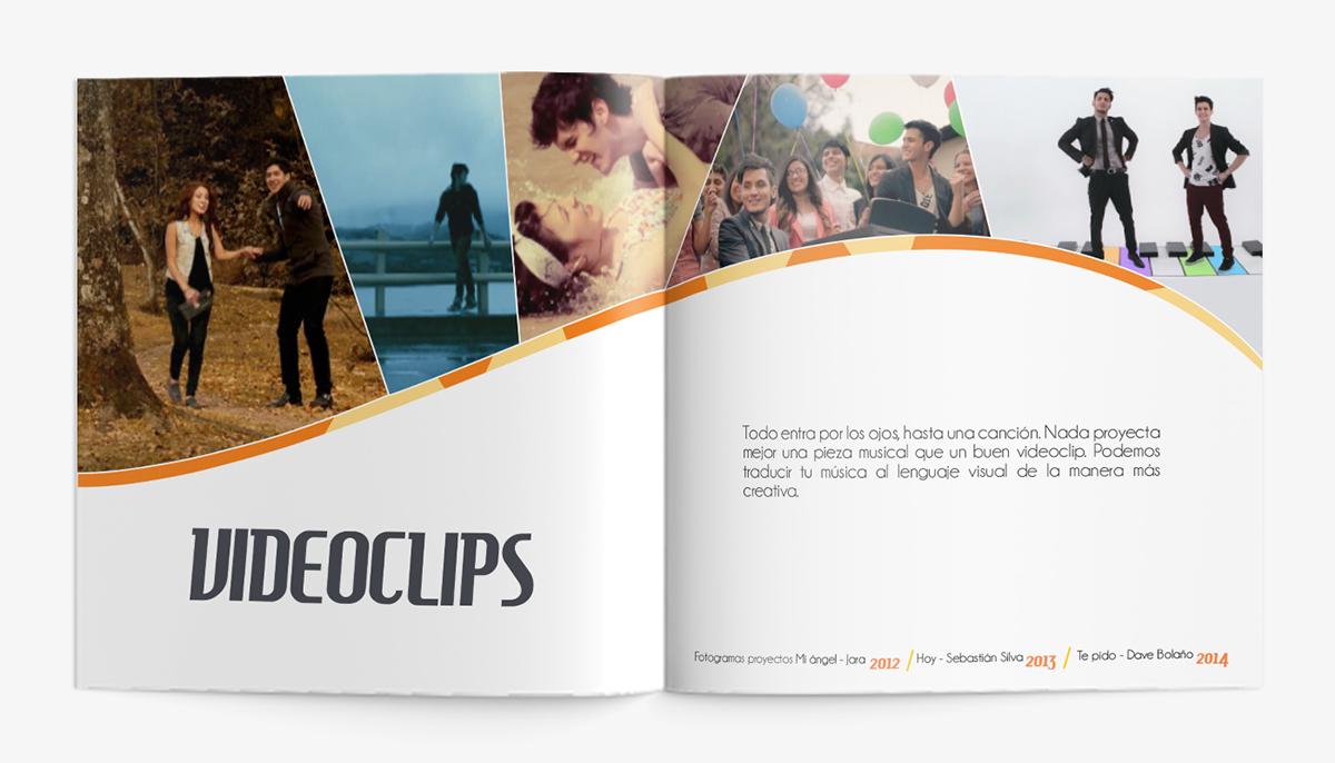 brochure print audiovisual Film