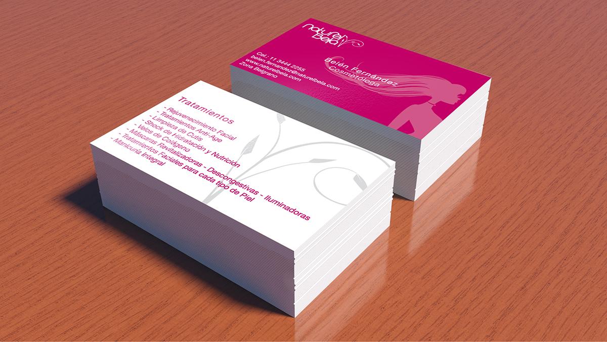 tarjetas de presentación on behance