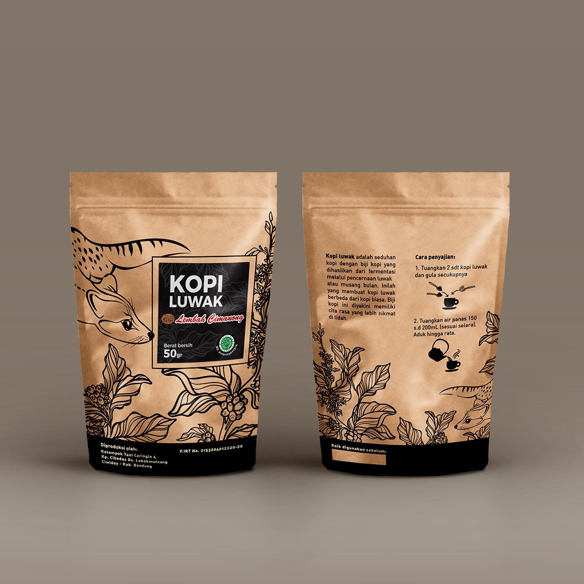Civet Coffee Kopi Luwak From Firebox Packaging Lembah Cimanong 250 Gram By On Student Show