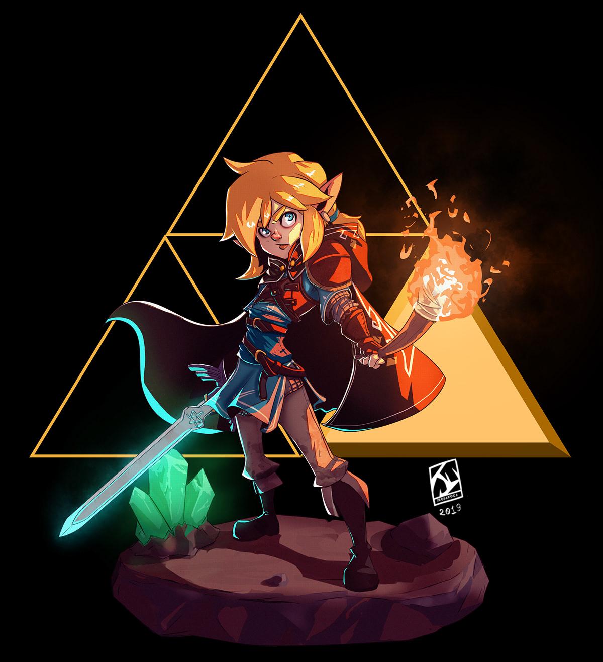 Zelda Breath Of The Wild Sequel Fanart On Behance