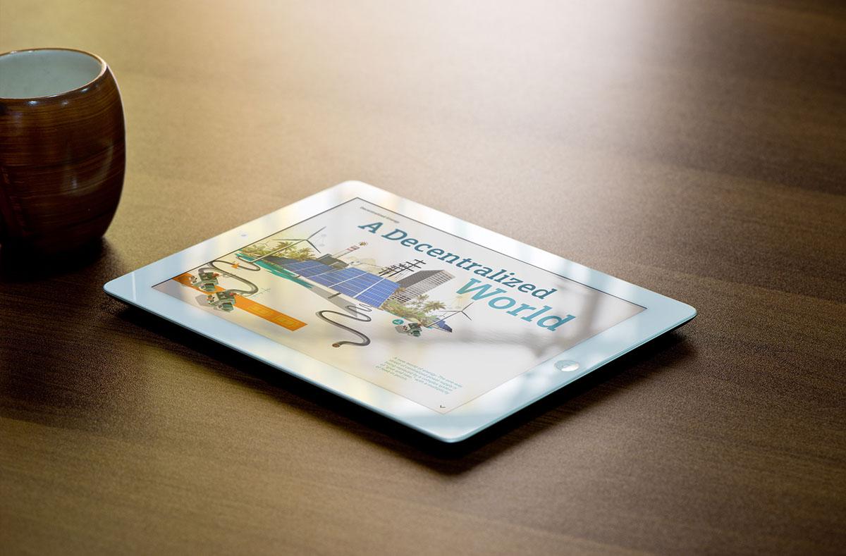 digital magazines digital editorial design iPad-Magazine