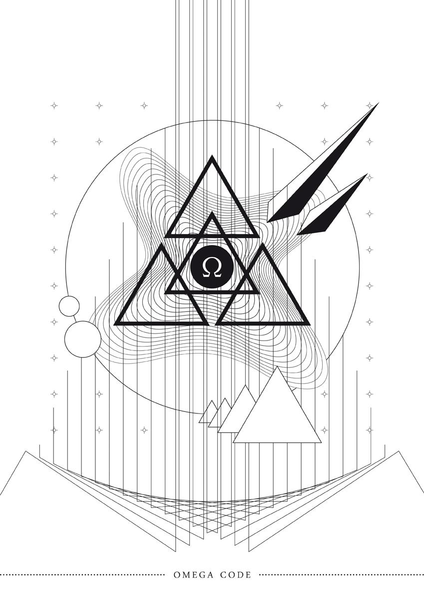 Omega Code Omega abstract minimalist vincent baurens baurens Space