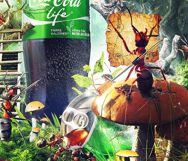 coca cola life Rusalkadesign legion ant Coca Cola Ludovic Cordelières army
