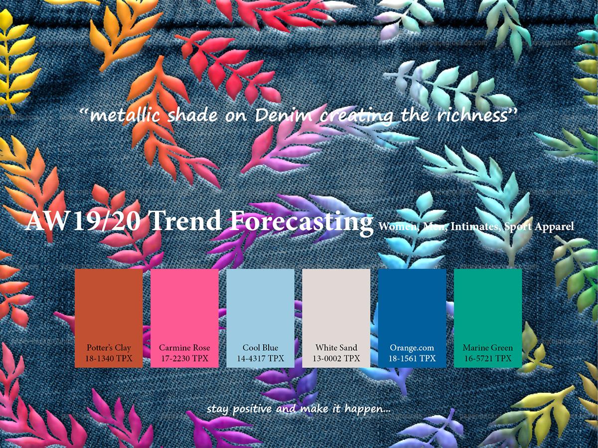 AW2020 i2020i iTrendi forecasting on iPantonei Canvas Gallery
