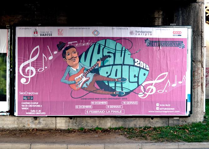 flyer streetart seacreative sea puppet Character card poster festival bilboard song