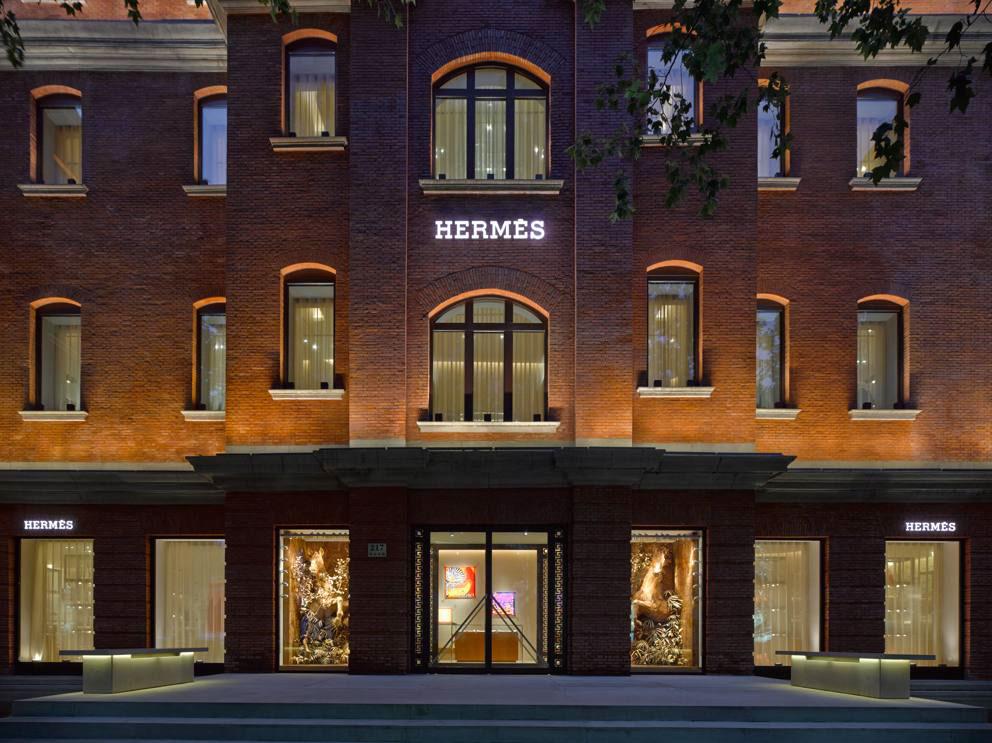 Herm s shanghai on behance for Maison hermes