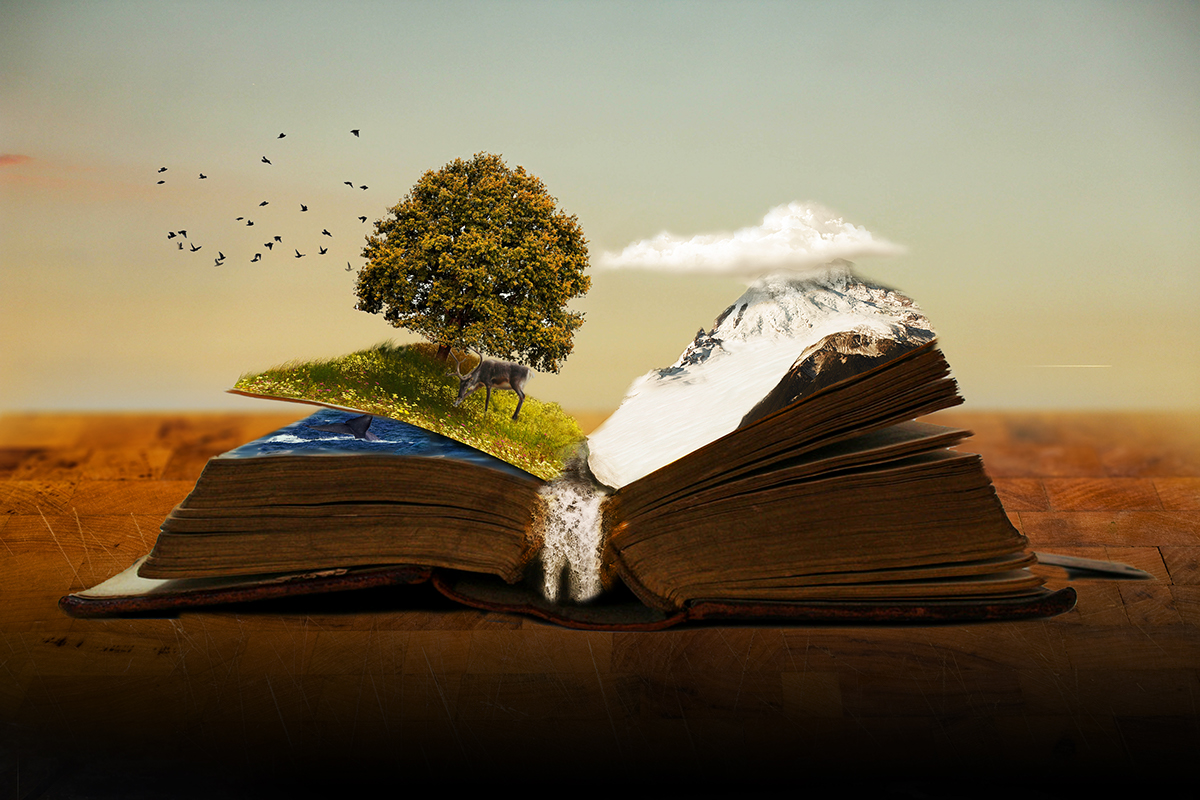 Image result for a world in a book