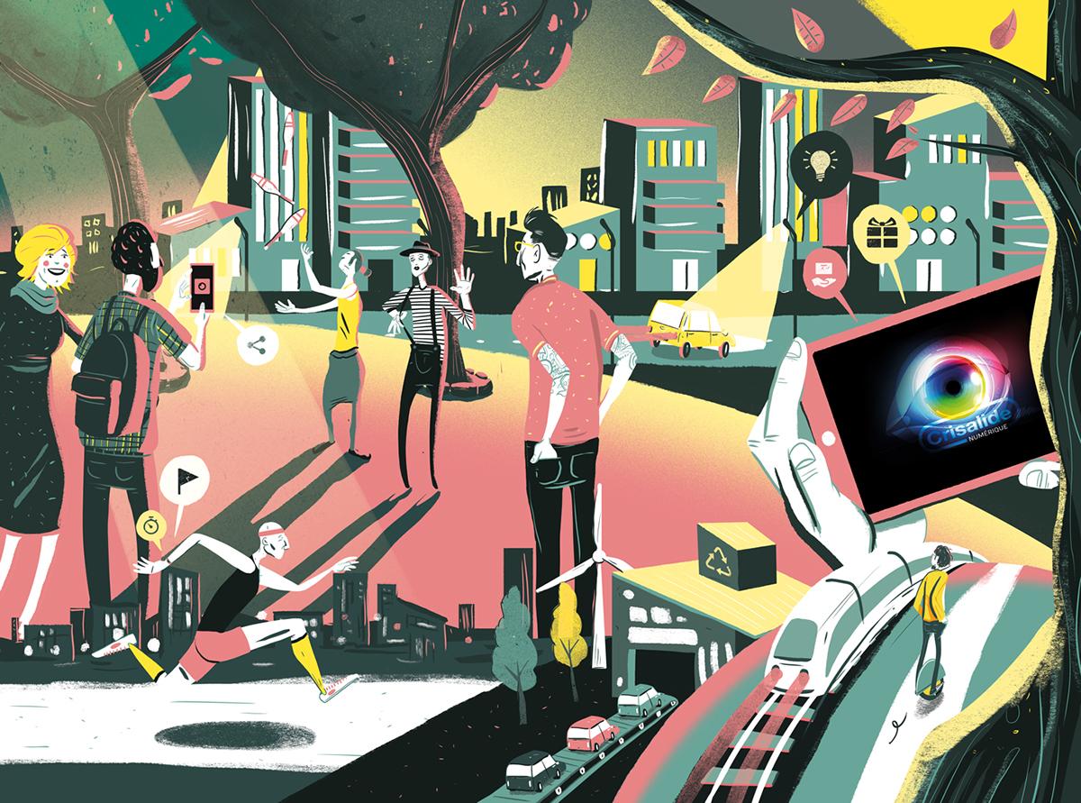 city mobility industry robotic future energy school