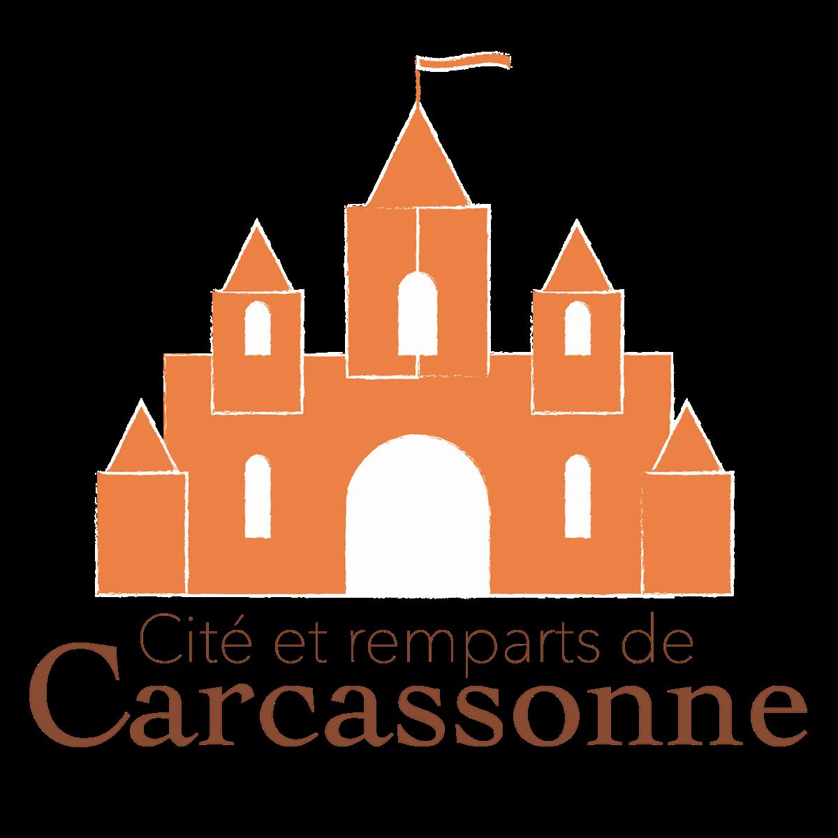 """Logo """"cité de Carcassonne"""" on Behance"""