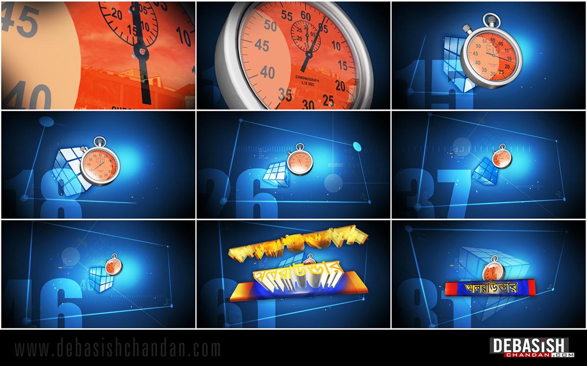 tv program title motion graphic Broadcast Graphics channel branding
