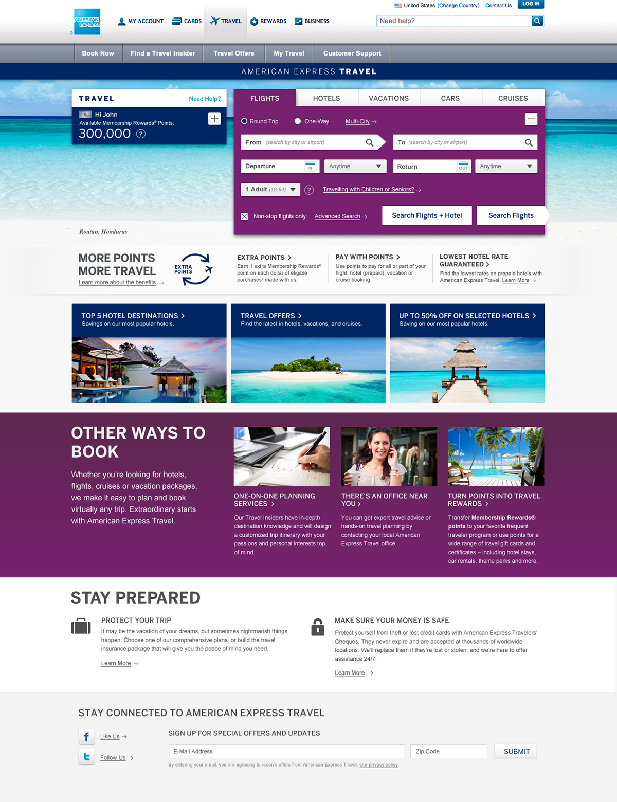 American Express Travel on Behance