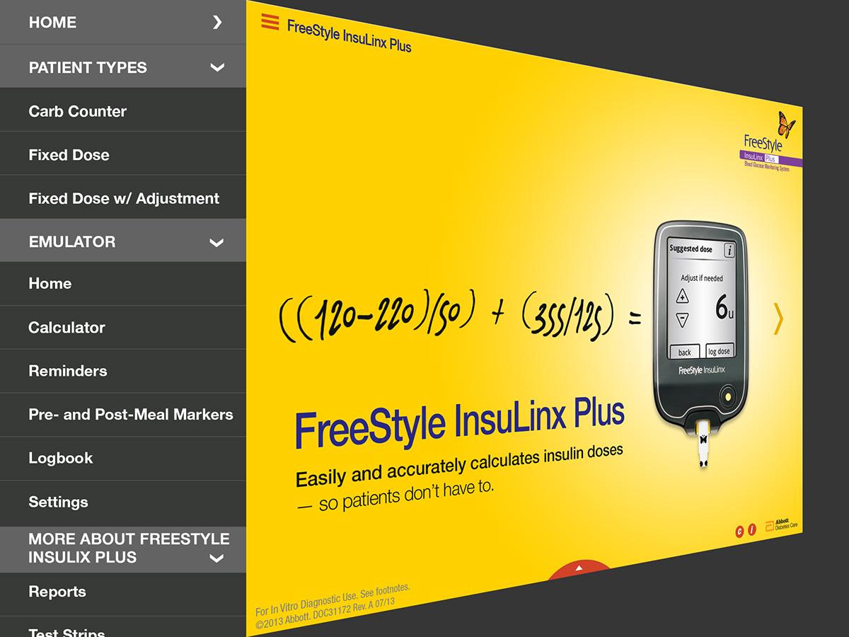 iPad sales app