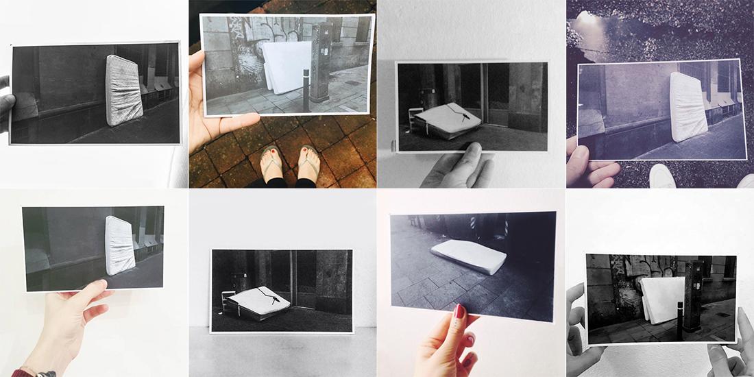 photographs postcards mattresses emotional photography conceptual