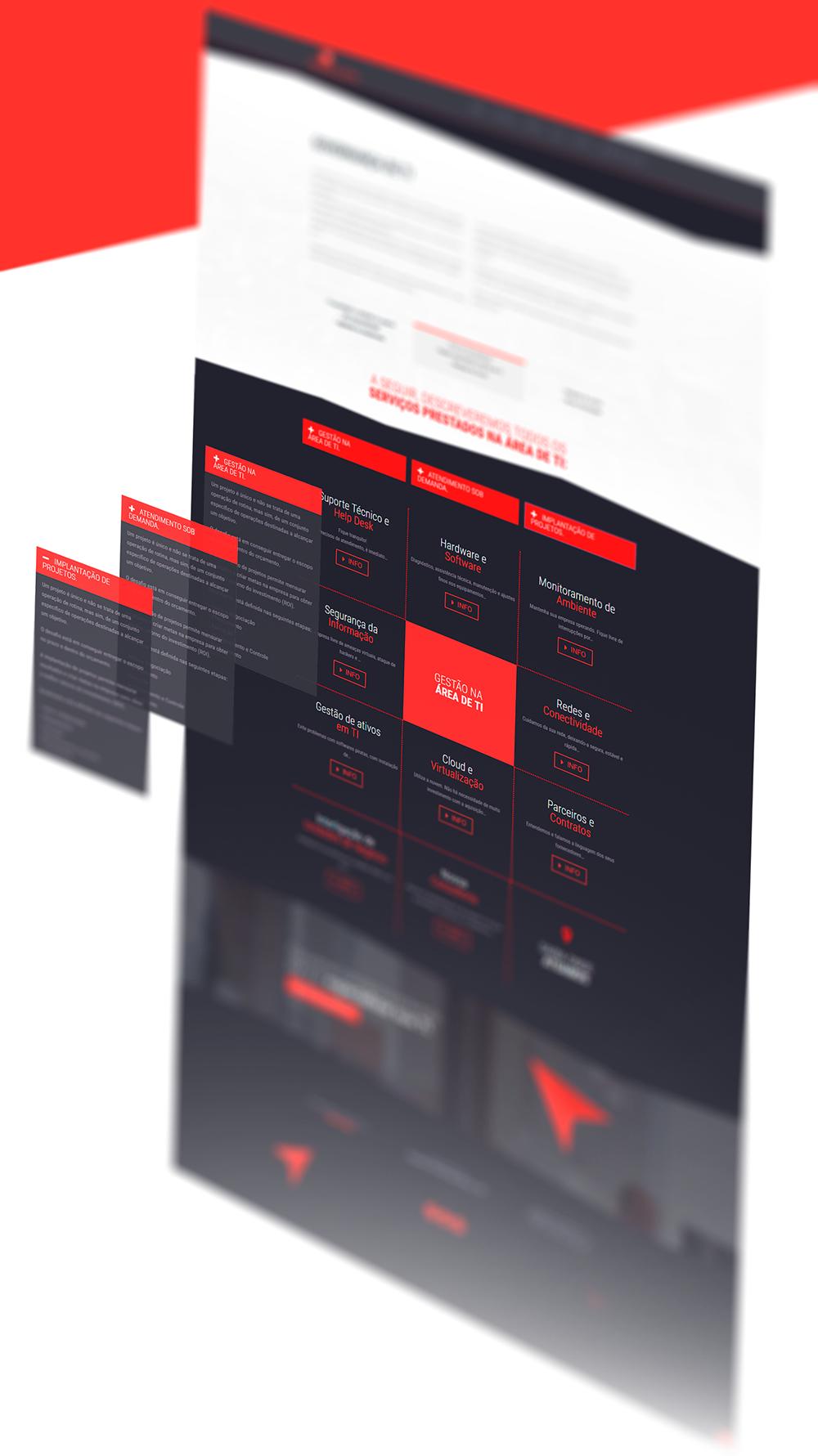 site Website Layout Responsive wordpress photoshop social media