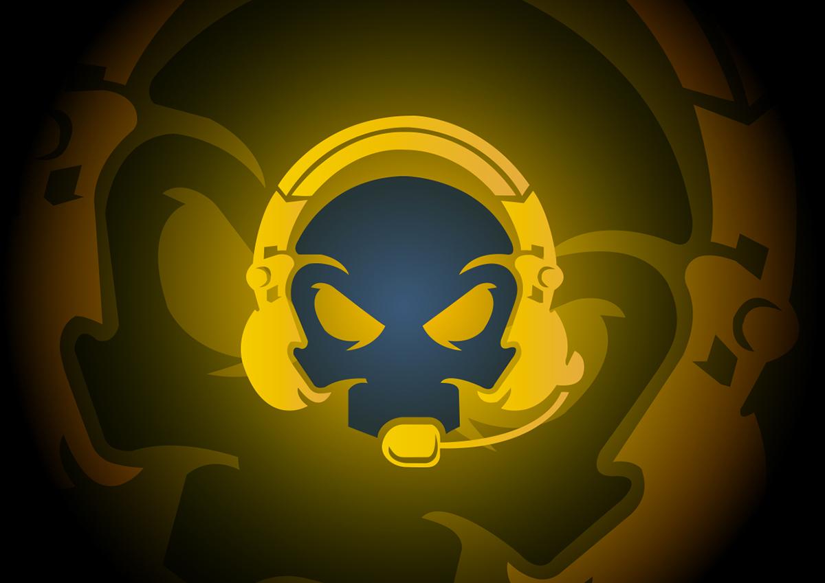 Gaming Skull - Esport Logo on Behance