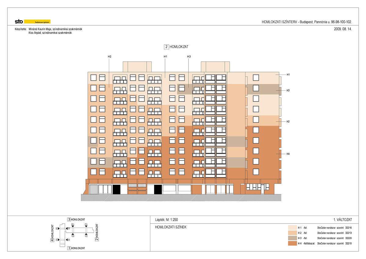 Colour Design revitalisation architecture